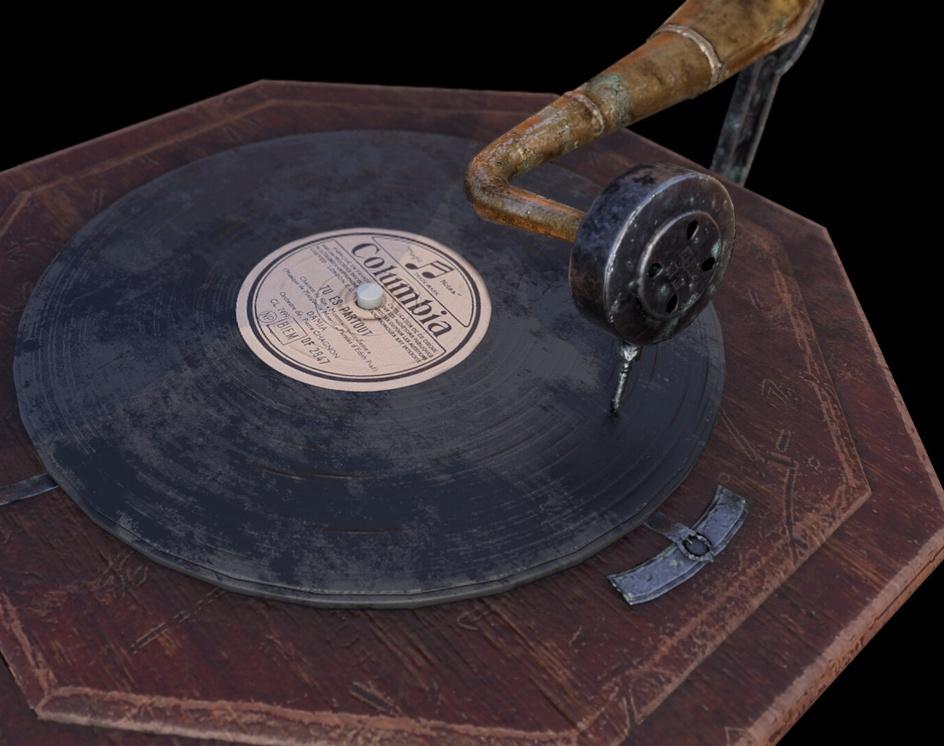Victorian Gramophoneby Santiago Martins