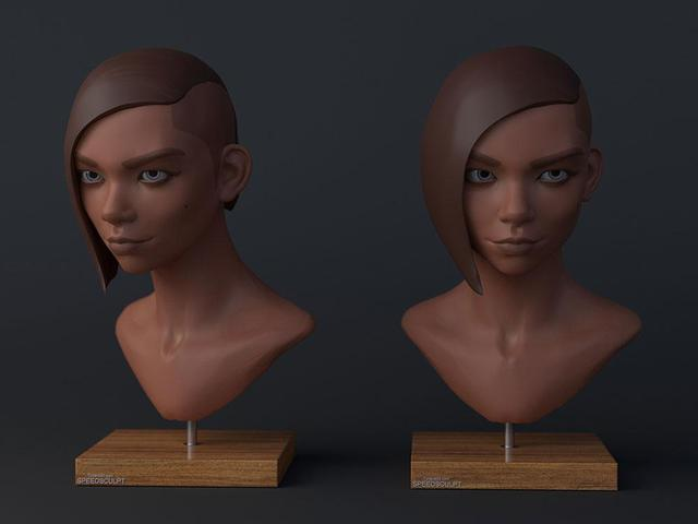 character modelling speed scults kevin beckers