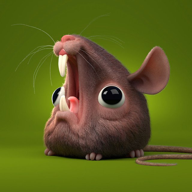 screaming mouse