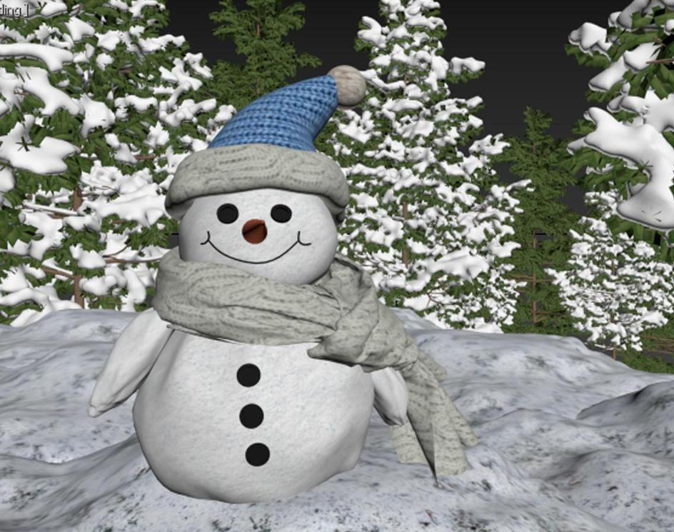 Little snowmanby hadis safikhani