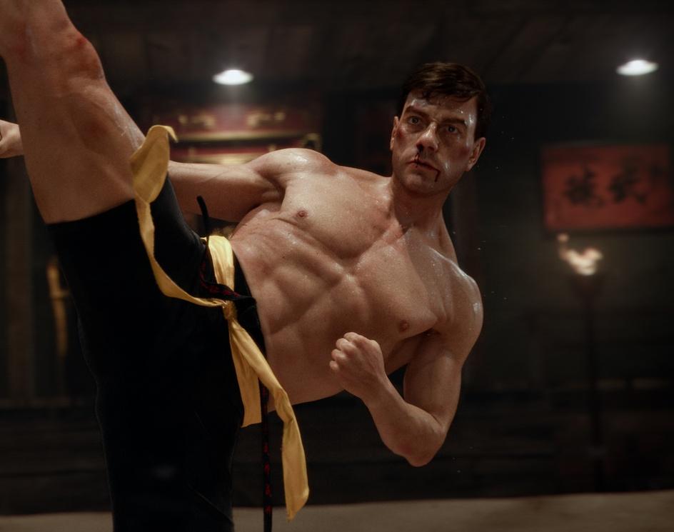 """Bloodsport"" Jean-Claude Van Damme fan art likenessby Stavros Karagiannis"
