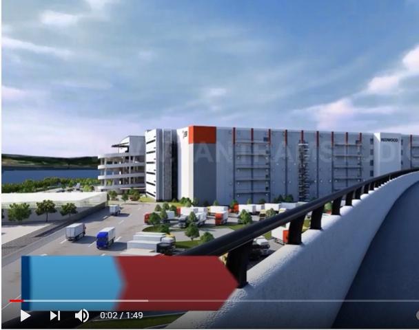 Manufacturing Industry 3D Large Scale Exterior Walkthough Animation   3D Flythrough Interior San Antonio, Texasby Ruturaj Desai