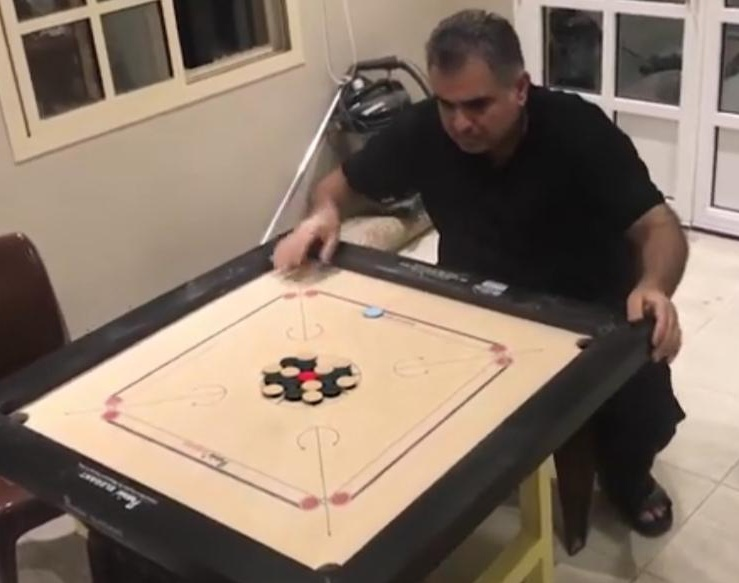 Best carrom player in the worldby Mansoor Toorani
