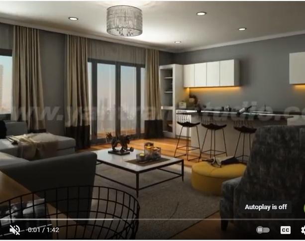 Trendy Home Interior Design show reel Walkthrough Animation Future ideas for small house Décor Style San Francisco,Californiaby Ruturaj desai