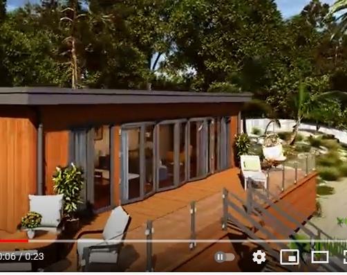 Incredible Tiny Beach House of your dream , Conceptual Lodge Exterior Walkthrough Boston, Massachusettsby Ruturaj Desai