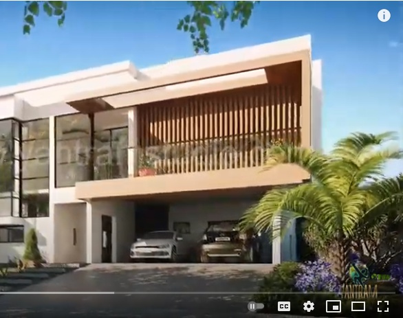 Architectural walkthrough Presentation video of Home- House Interior & exterior virtual tour 3dsmax Los Angeles, Californiaby Ruturaj Desai