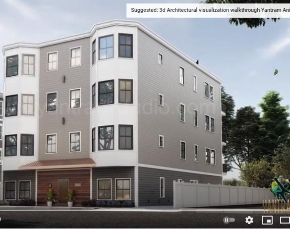 interior design ideas of apartment décor by architectural animation studio, Virtual 3d walkthrough Chicago, Illinoisby Ruturaj Desai
