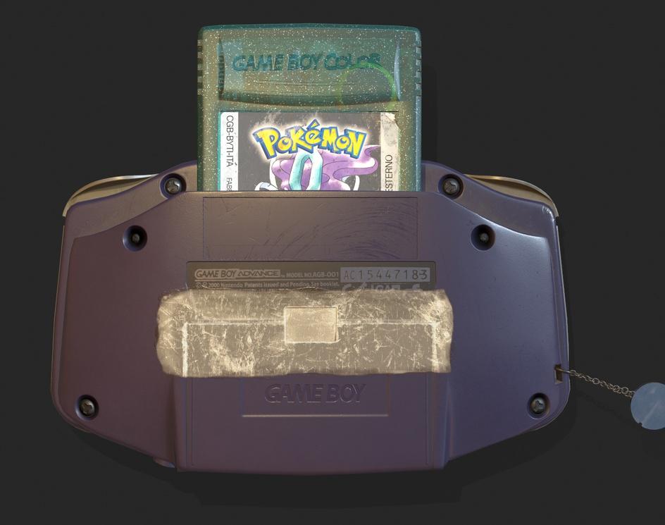 My first console - Game Boy Advanceby Valeria Traverso
