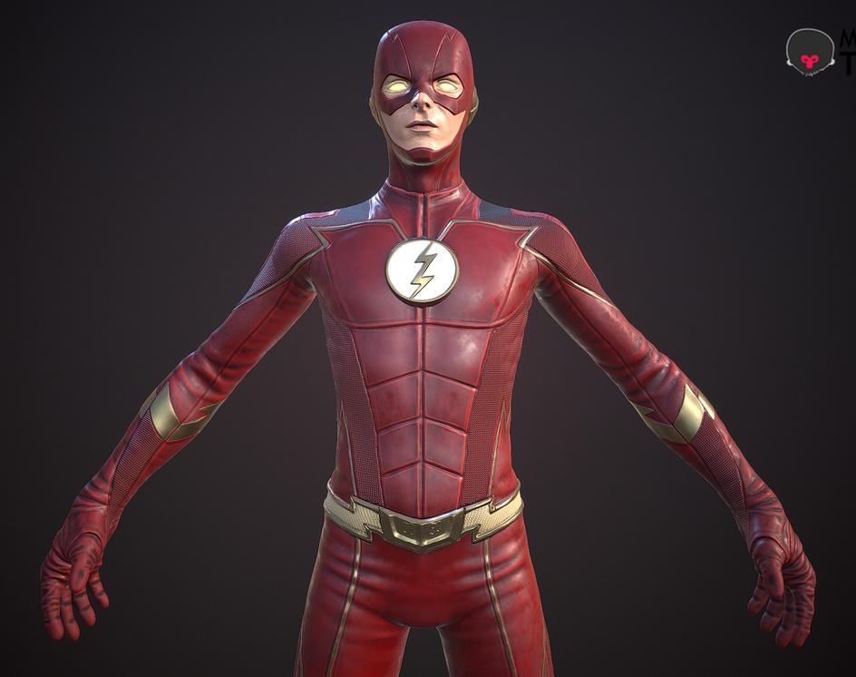 The Flash _Game modelby S M Bonin