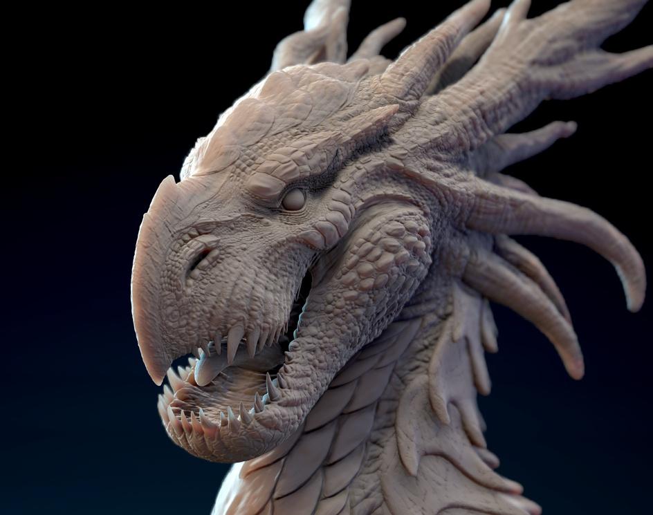 Dragon Bust Conceptby José Luis Hernández