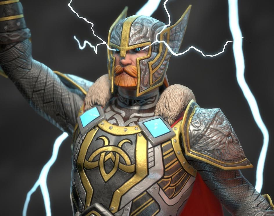 Thor God of Thunderby S M Bonin