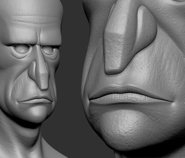 unwrapping UVs exporting assets sculpting design