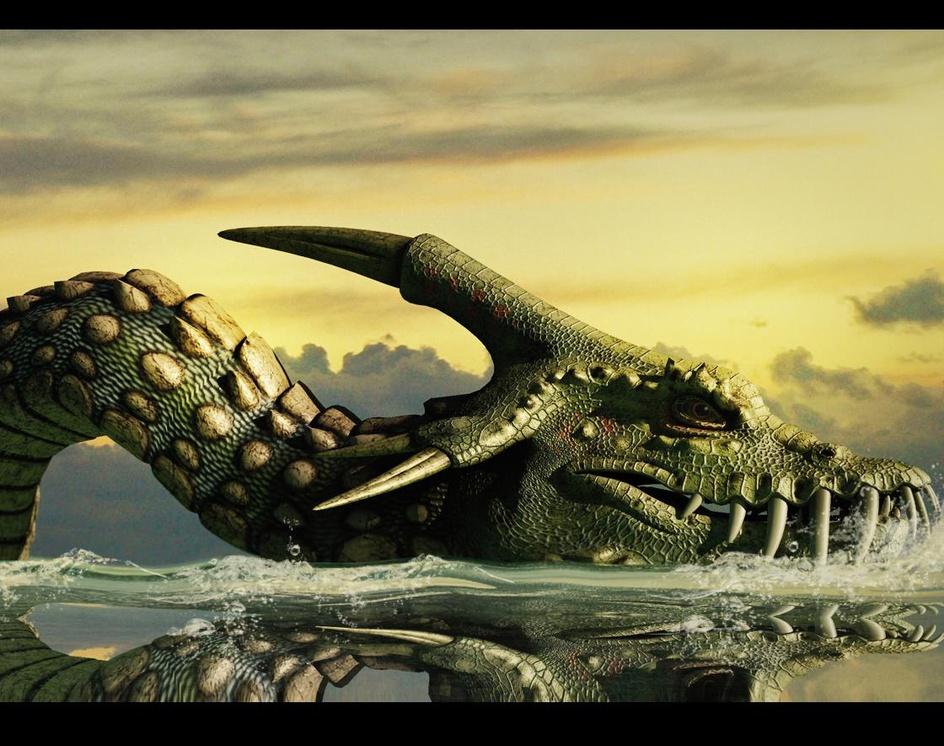 Sea Serpent 77by rschlenker