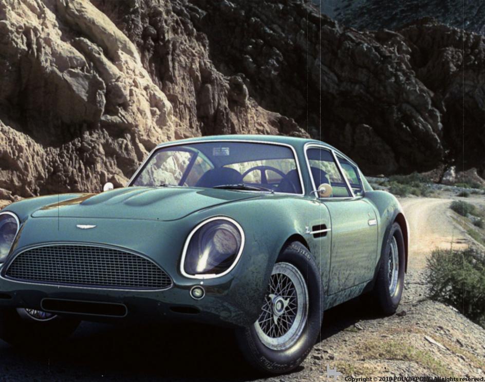 Aston Martin DB4 GT Zagatoby seb3ds