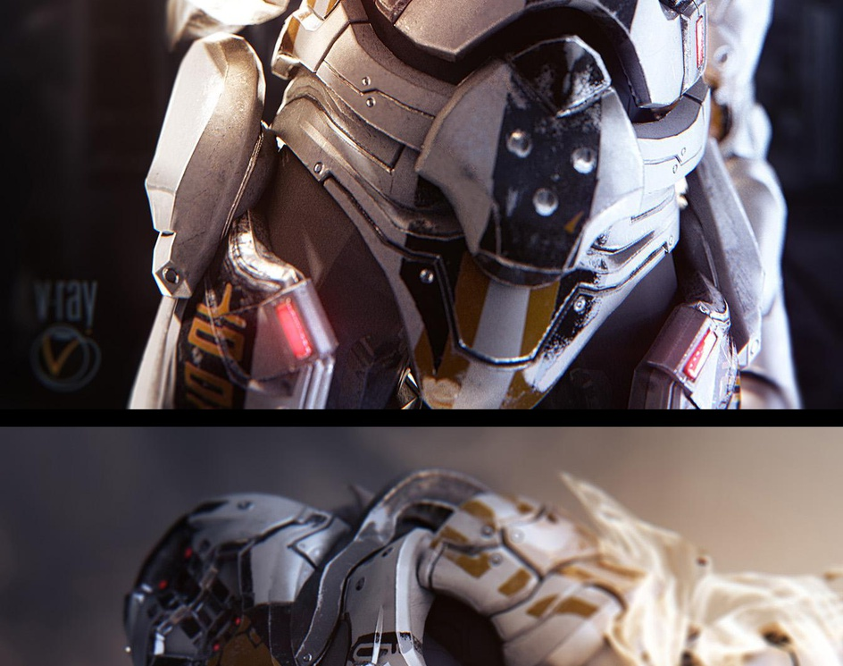 Mass Effect - Character (game-ready)by Sebastian Appel