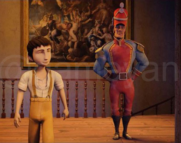 3D Pequeños Héroes Movie Character Modeling and Animated Featured Filmby GameYan