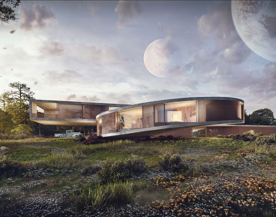 House in a New Worldby Sergio Mereces