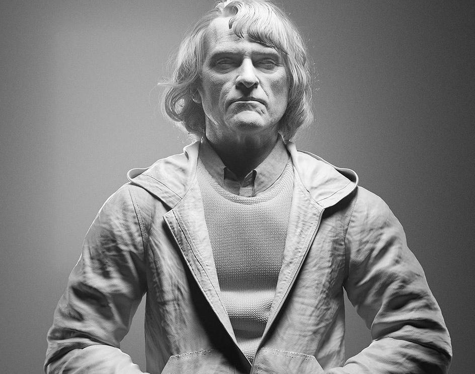 Joaquin Phoenix 3D Likenessby Ching-Kai Yen