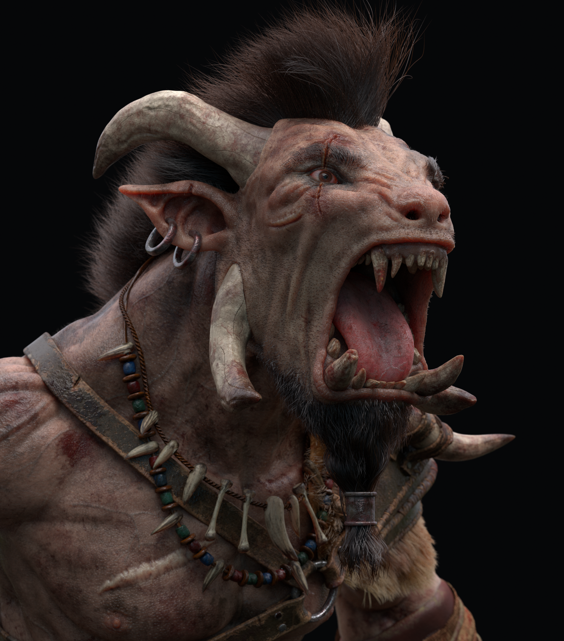 Sculpt a furious warrior in ZBrush & Maya · 3dtotal · Learn