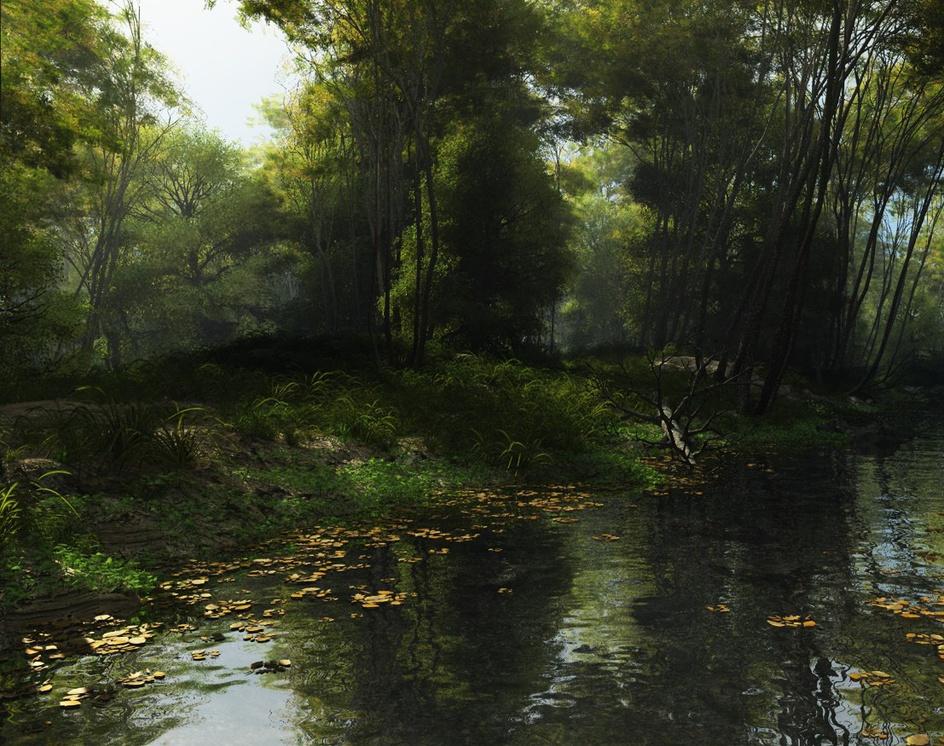 Shady brookby Luigi Marini