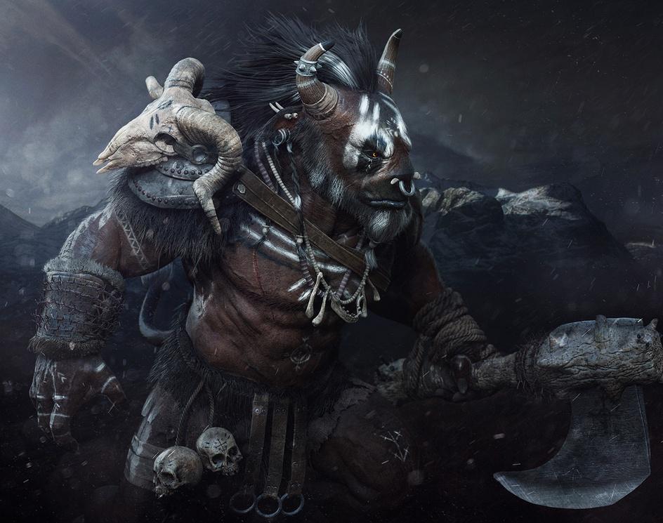 barbarian minotaurby CGbrahim
