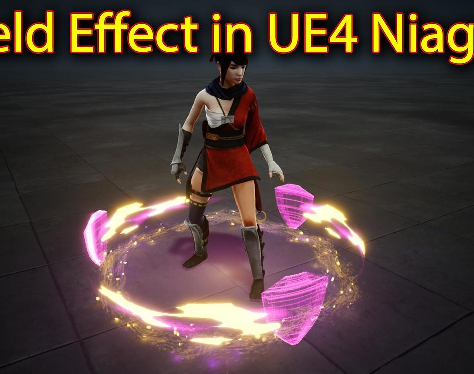 Shield Effect | Unreal Engine Niagara Tutorials | UE4 Niagara Shield Effectby Ashif Ali