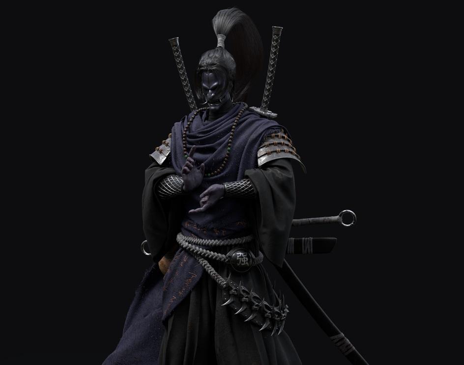 Ninja (shinobi)by Souhayl Ben Ali