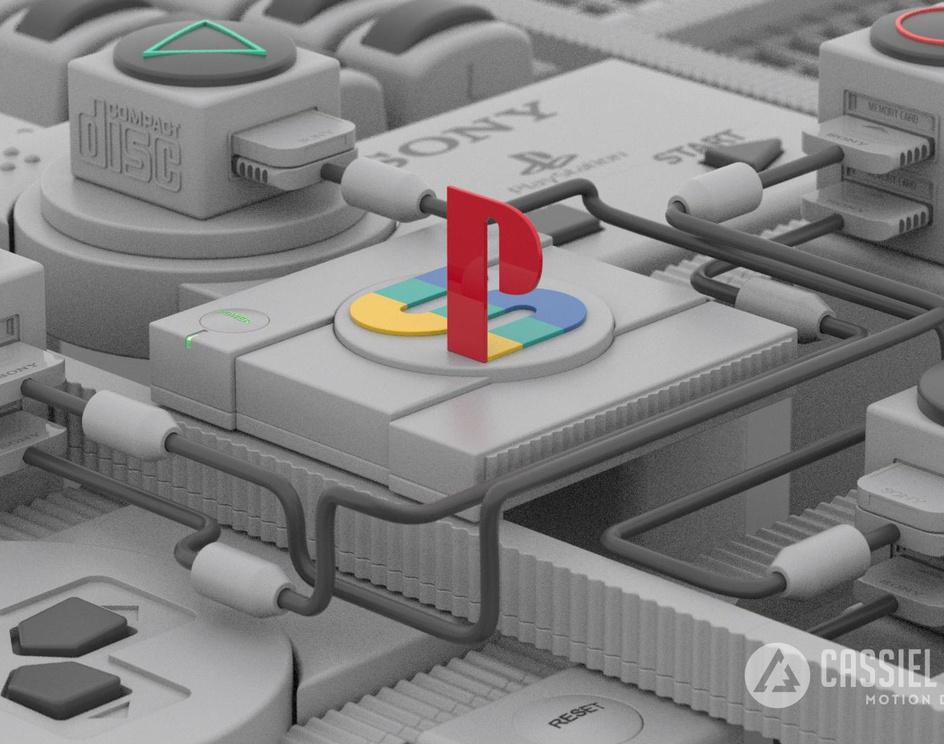 Playstation - 25th anniversaryby Cassiel Weitzel