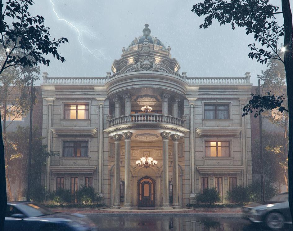 Luxurious buildingby Aref Razavi