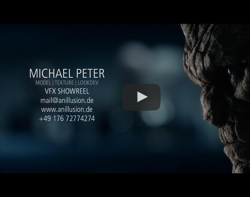 VFX Showreel | Michael Peterby anillusion