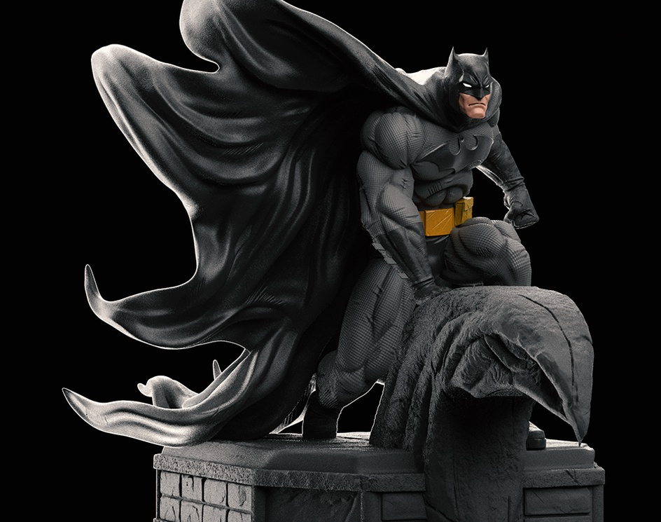 Batman Fan Art.by Nicolas3d3