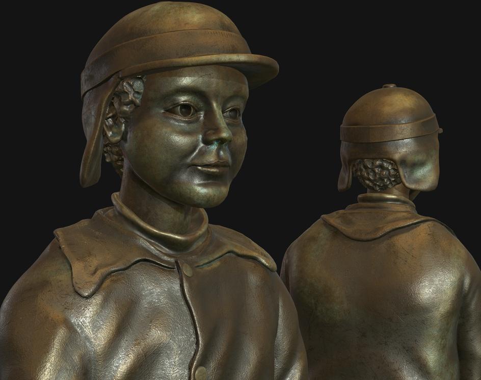 Sildegutten Statue, Florø, Norwayby Viktor Ardeljan
