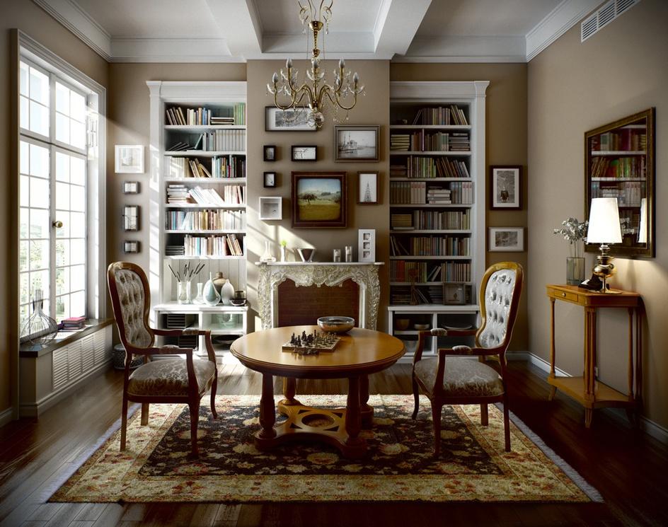 'Classic Interior'by Viktor Fretyan