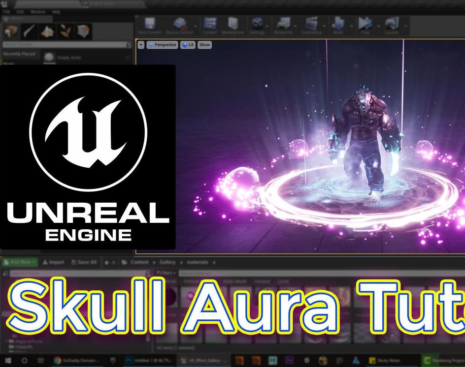 Unreal Engine Skull Aura Tutorialby Ashif Ali