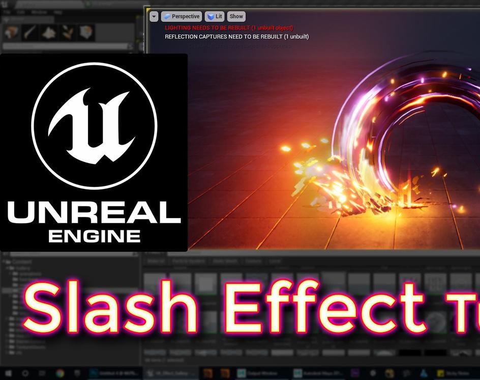 Unreal Engine Slash Effect Tutorialby Ashif Ali