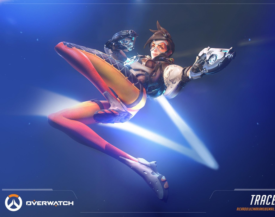 Tracer - Overwatchby Ricardo Mariano