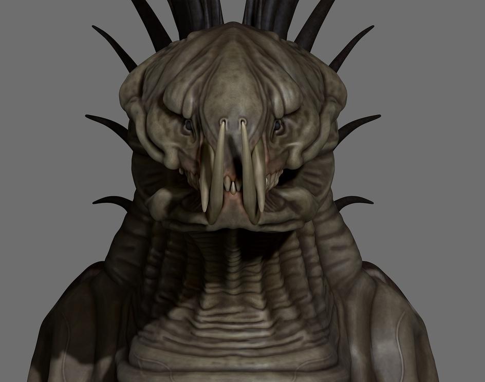 Alien Creatureby Matteo Dal Ben