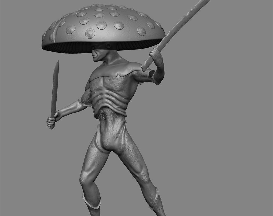 Mushroom Samuraiby Matteo Dal Ben