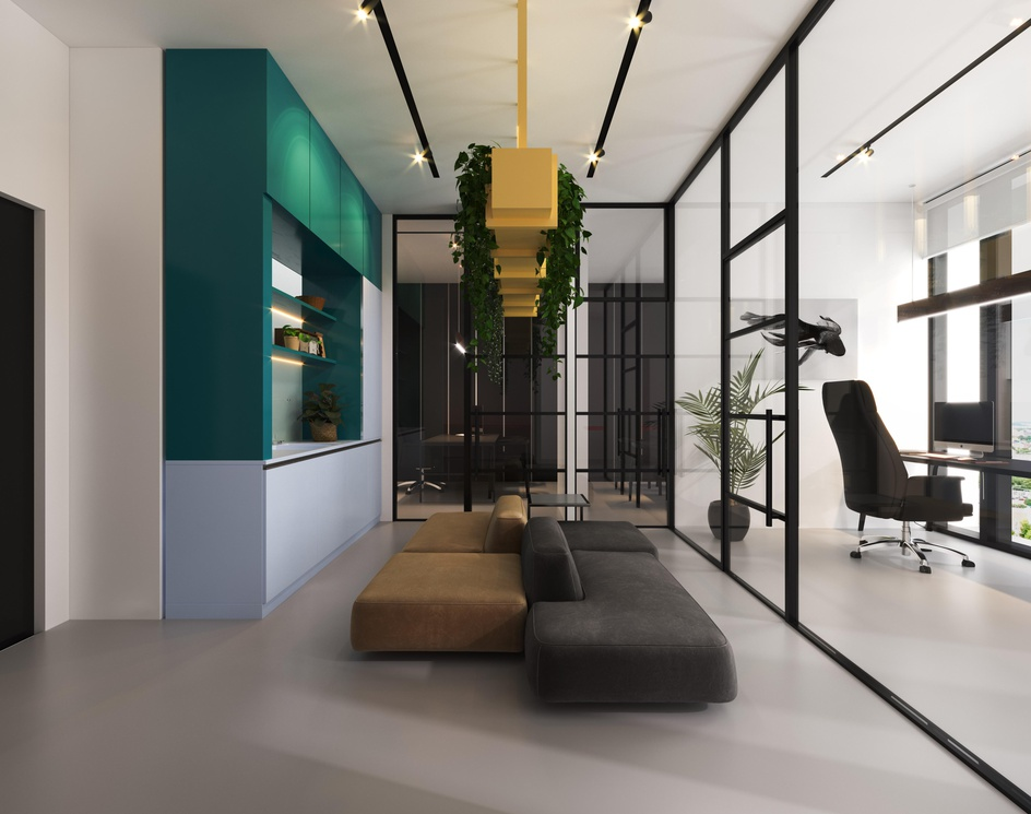 Small Office Design | Modern and Minimalistby DEER Design
