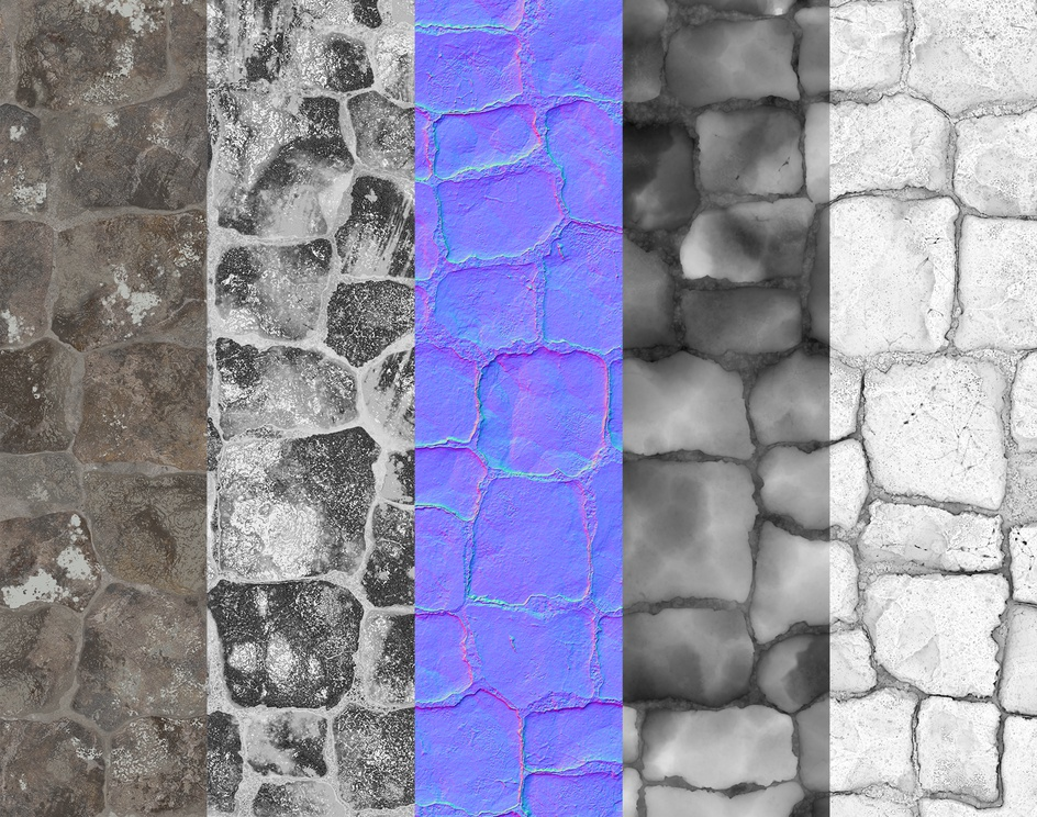 Snake Mountain Wall - Substance Designerby cflorencio