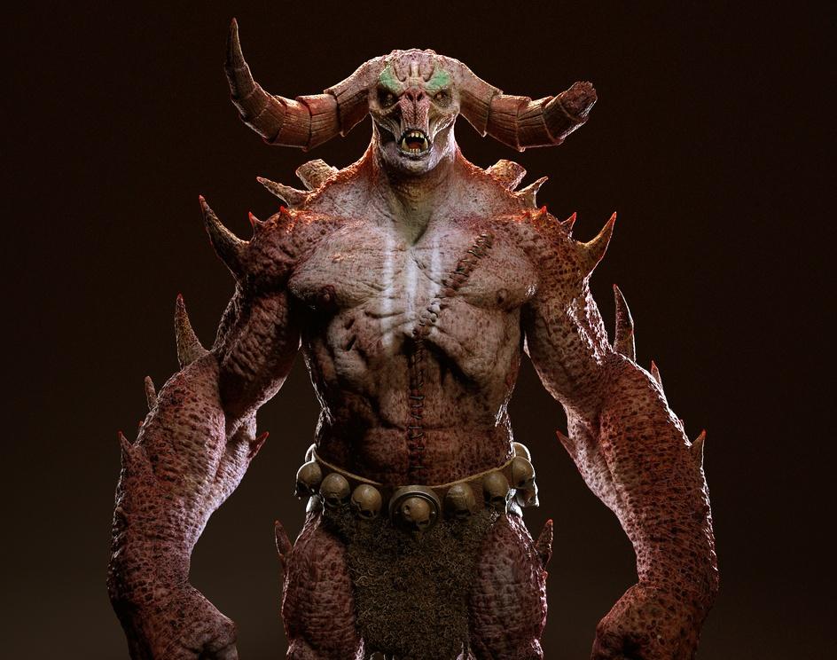 Hephasto the Armorer from diabloby mdanuz