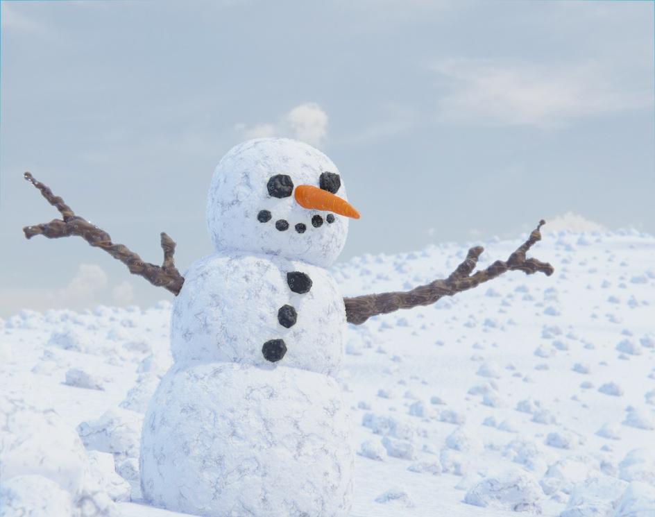 Snowmanby Blaine Fox