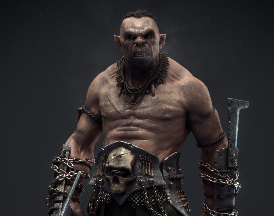 Tolkien style Orcby soulty