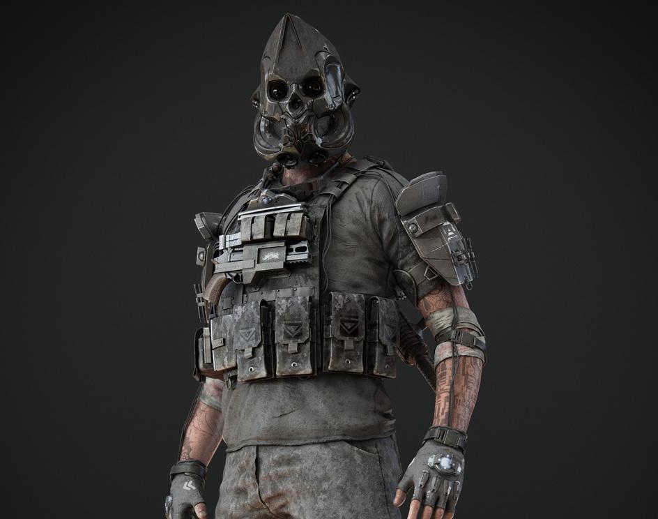Scifi Mercenaryby soulty