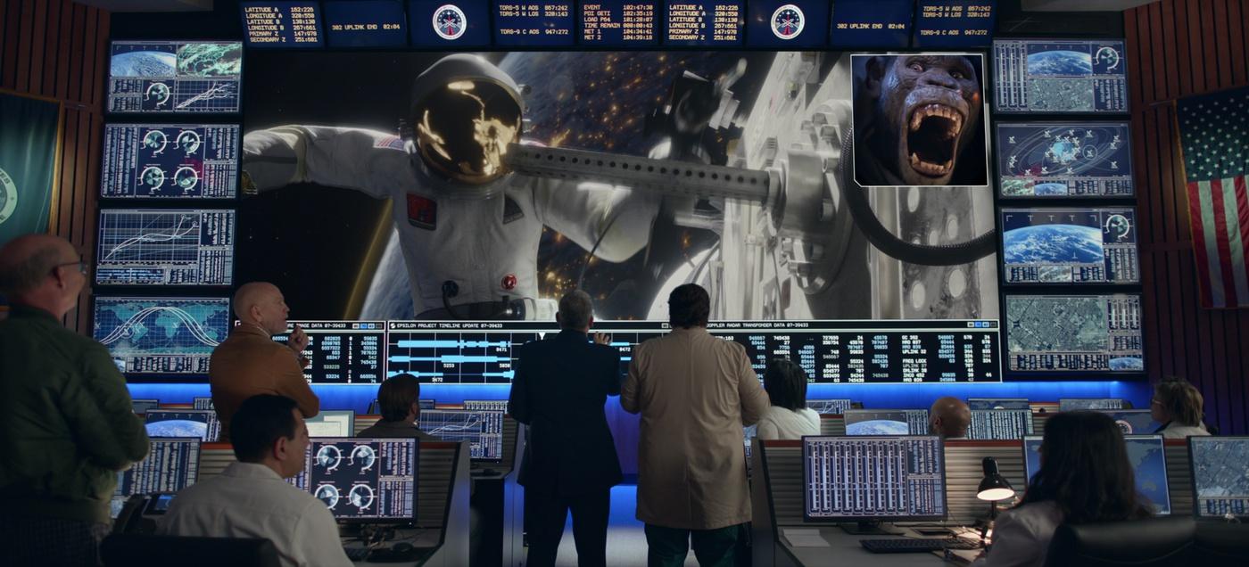 green screen netflix sci-fi show monkey