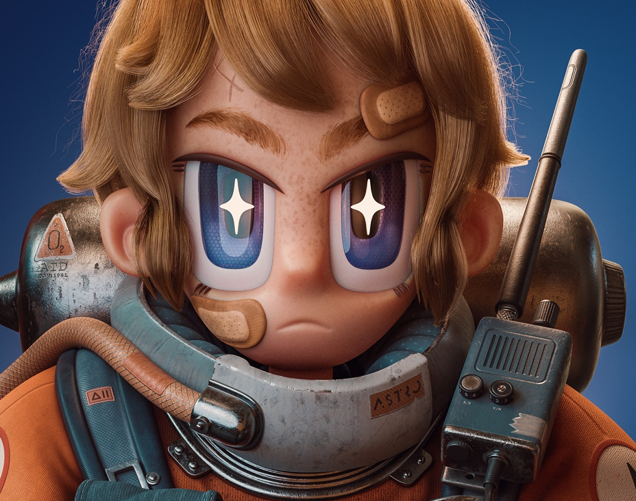 Space Cadetby Alex Treviño