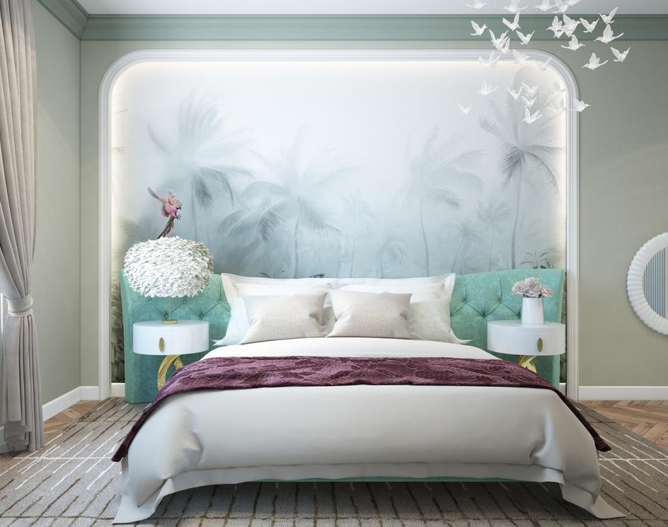 Gentle bedroomby Archviz.Studio