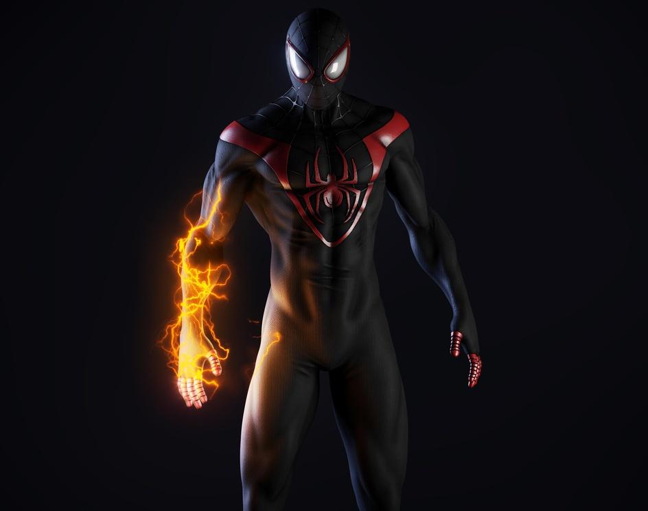 SPIDER-MAN Miles Moralesby Eduardo Souza