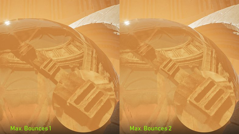 reflection control max bounces