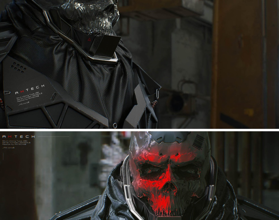 Skull Cyborg | Type 4.2 // AxTECHby stabile